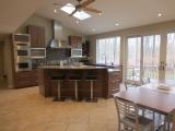 <h5>modern walnut frameless cabinets</h5>